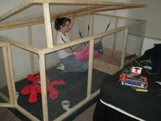 this is THE most amazing ferret cage I have ever seen...and cheaper to build than what I paid for the ferret nation cage ours are in right now!