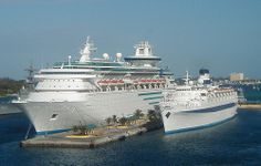 Nassau - Two Cruise Ships
