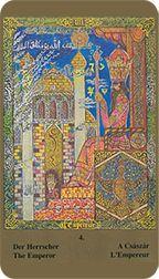 Emperor from the Kazanlar Tarot at TarotAdvice Tarot Reading, Tarot Decks, Tarot Cards, Emperor, Art Gallery, Image, Tarot Card Decks, Art Museum, Tarot
