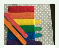 Match color stick