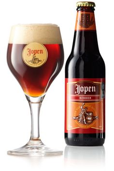 Jopen 4-granen bokbier:  beer from Brewery and restaurant in Haarlem, The Netherlands