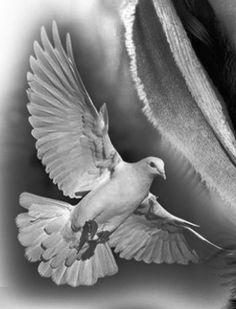 Versions Share ©by: █║ Rhèñdý Hösttâ ║█ Thank you for visiting my. Jesus Tattoo Design, Dove Tattoo Design, Forearm Tattoo Design, Skull Tattoo Design, Tattoo Sleeve Designs, Sleeve Tattoos, Dove Tattoos, Wing Tattoos, Celtic Tattoos