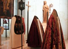 Religious Robes  Victoria and Albert Museum  London UK June 2011