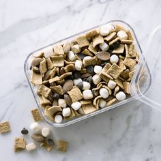 Super-Easy S'mores Trail Mix Recipe - Sunset