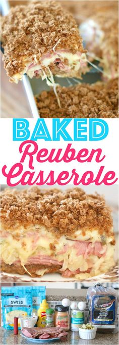 Baked Reuben Casserole recipe from The Country Cook