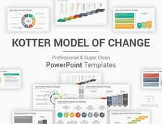 The Best collection of John Kotter Change Model PowerPoint Template, Diagrams, and Slides used in the project management presentations to help implement a powerful and successful change process within a company or organization. Ppt Slide Design, Powerpoint Slide Designs, Powerpoint Presentation Templates, Change Management, Project Management, Strategic Planning Process, Strategy Map, Changing Jobs, Icon Font
