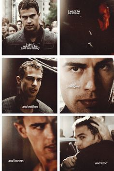 """But I'm still working on kind.""~ Four. Tobias Eaton. Divergent~ Veronica Roth."