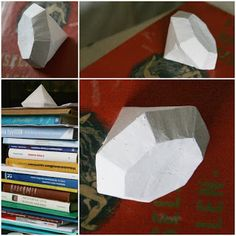 DIY plaster diamond