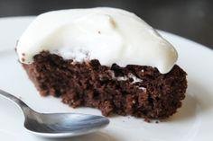 Saftig, sukkerfri sjokoladekake