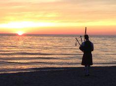 Sunset Piper, Southampton, Ontario