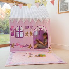 I've just found Gingerbread Cottage And Sweet Shop Playhouse. This cute '2 in 1' Gingerbread Cottage and Sweet Shop Playhouse will delight little girls' this Christmas.. £149.00