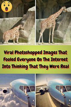 #Viral #Photoshopped #Images #Fooled #Internet #Thinking #Real