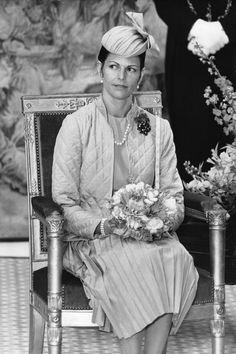 21 Stylish Women Who Married Into Royalty...Silvia Renate Sommerlate married Carl XVI Gustaf of Sweden on 1976