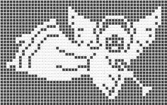 Angel, filet crochet, motive, crochet patterns, free, dolies, hat, crocheting, crochet charts and motifs - www.free-crochet-patterns.rucniprace.cz