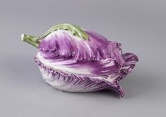 This tulip-form small tureen or covered dish must have appeared a wonderful bit of nature, as if fallen from a bouquet, on a dining table. Porcelain started to take the place of sugar sculptures on...