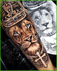 Sketches Rate This King Lion Tattoo 1 to 100 Sketches Rate This King Lion Tattoo 1 to 100 lion head, surrounded by flowers, leg tattoos for women, black and white shorts As 70 melhores tatuagens de leão da internet [Masculinas e Femininas] - Eu amo tat. Lion Forearm Tattoos, Lion Head Tattoos, Mens Lion Tattoo, Forarm Tattoos, Love Tattoos, Tattoos For Guys, Lion Tattoos For Men, Beautiful Tattoos, Leg Tattoo Men