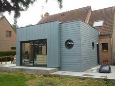 extension maison bois | Extension bois Valenciennes Architecture, Shed, Outdoor Structures, Deco, Images, Extensions, Houses, Inspiration, Wood
