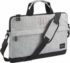 Targus - Strata Laptop Sleeve - Pewter - AlternateView12 Zoom