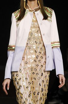 TWO TONE SLOPPY JOE  Manish Arora Spring 2013 - Details