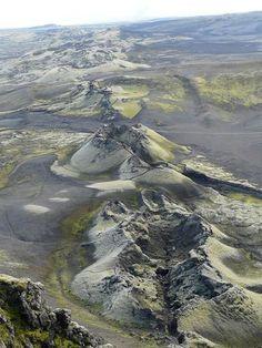 Laki. volcán de Islandia