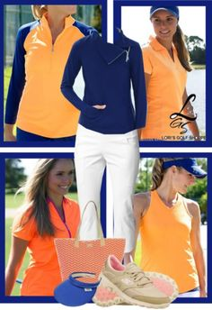 Wanna see a fabulous Golf Style In A Classic Fit? It's exclusive in lorisgolfshoppe.polyvore.com ! #ootd #golfwear #lorisgolfshoppe