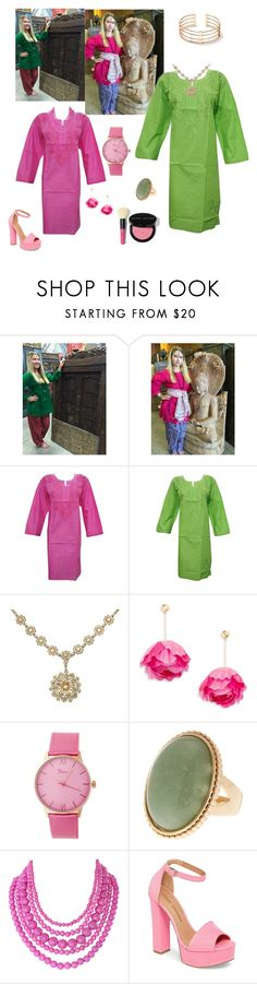 Colorful Festive Tunic by tarini-tarini on Polyvore featuring Chinese Laundry, Aurélie Bidermann, Boum, Humble Chic and Bobbi Brown Cosmetics