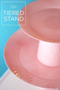 DIY Tiered Cake Stand - Evite