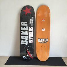 "BAKER REYNOLDS Graphics Professional Skate Deck 8"" Maple Deck Street Skateboard Deck"