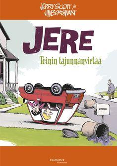 Jere - Teinin tajunnanvirtaa #egmont #sarjakuva #sarjis #jere #zits
