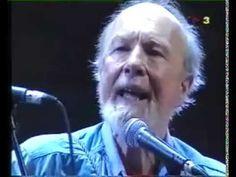Viva la Quince Brigada, Pete Seeger, Barcelona 1993 - YouTube