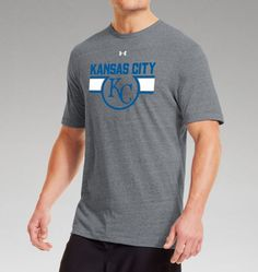 Men's Kansas City Royals Charged Cotton® Tri-Blend T-Shirt | Under Armour US