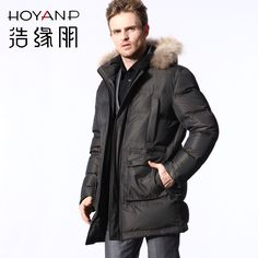 $25.79 - Mens Fur Coats Fashion POP HOMME Fur Collar Mens Overcoat ...