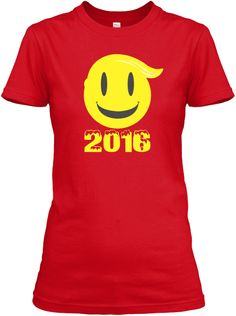 It's Future Women   2016   Limited!!! Red T-Shirt Front