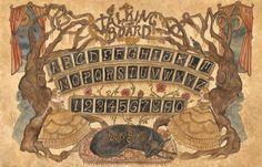 Talking Board Print by swanbones