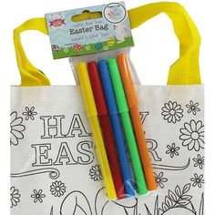 49331b8f24 Colour Your Own Easter Bag. Colour Your Own Easter Bag