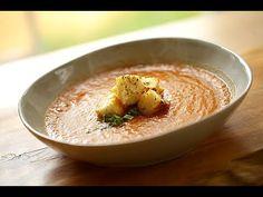Beth's Vegan Roasted Tomato and Eggplant Soup Recipe | ENTERTAINING WITH BETH - YouTube