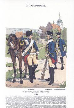 Band V #6.- Preußen. Von Gschray'sches Freikorps. 1761.