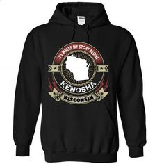 [MA Design - 2015] Kenosha, Wisconsin - Its where my story begins - #kids #silk shirt. BUY NOW => https://www.sunfrog.com/LifeStyle/[MA-Design--2015]-Kenosha-Wisconsin--It-Black-Hoodie.html?id=60505
