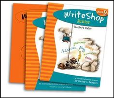 Homeschool writing curriculum for grades 3-4 (& reluctant 5th). WriteShop Junior teaches genres incl. adventure, sci-fi, narratives, and reports. Graphic organizers, loads of fun writing games, & intro to self-editing.