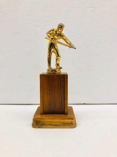 Painted Metal Miniature Ballerina Trophy Reynolds Miniatures