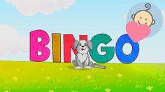 ❤ Bingo Dog ❤ Bingo dog song lyrics - Songs for kids - Nursery rhymes - ...