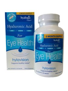 Hyalogic- Hylavision Eye Health w/ HA 120 caps