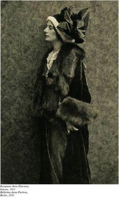 Балерина Анна Павлова, Берлин, 1913 г.