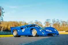 1966 Lola T70--The 11 Most Beautifully Futuristic Race Cars Of The 1960s