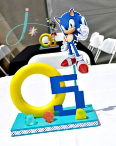 Sonic the Hedgehog Birthday Party Ideas | Photo 1 of 36 | Catch My Party