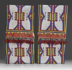 Pair of Parfleche Envelopes, Lakota (Teton Sioux), circa 1900-1910 ...
