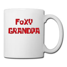 Cool Foxy Grandpa Ceramic Coffee Mug, Tea Cup | Best Gift For Men, Women And Kids - 13.5 Oz, White ** Hurry! Check out this great product : Coffee Cups and Mugs
