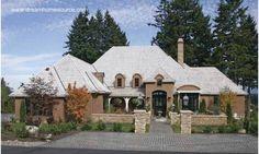 Arquitectura de Casas: Estilo Country francés en Estados Unidos.