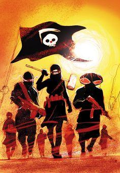 NEW_SUICIDE_SQUAD_9Un grupo inestable, violento ha desprendido de la Liga de Asesinos!  Sólo el Escuadrón Suicida tiene una oportunidad de detenerlos - si están dispuestos a llegar aún más inestable y violento!