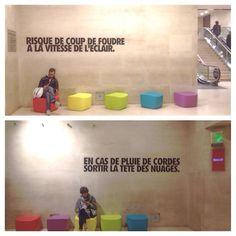 Installation de #BenjaminIsidoreJuventon dans le #CarrouselDuLouvre #LeDesignFaitlaPluieEtleBeauTemps #PDW15 #paris #live #ParcoursCarrousselDuLouvre #ParcoursOperaConcordeEtoile #TEAM14SPIN